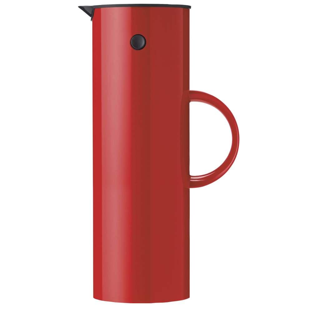 Isolierkanne, 1 l. EM77 Red Stelton
