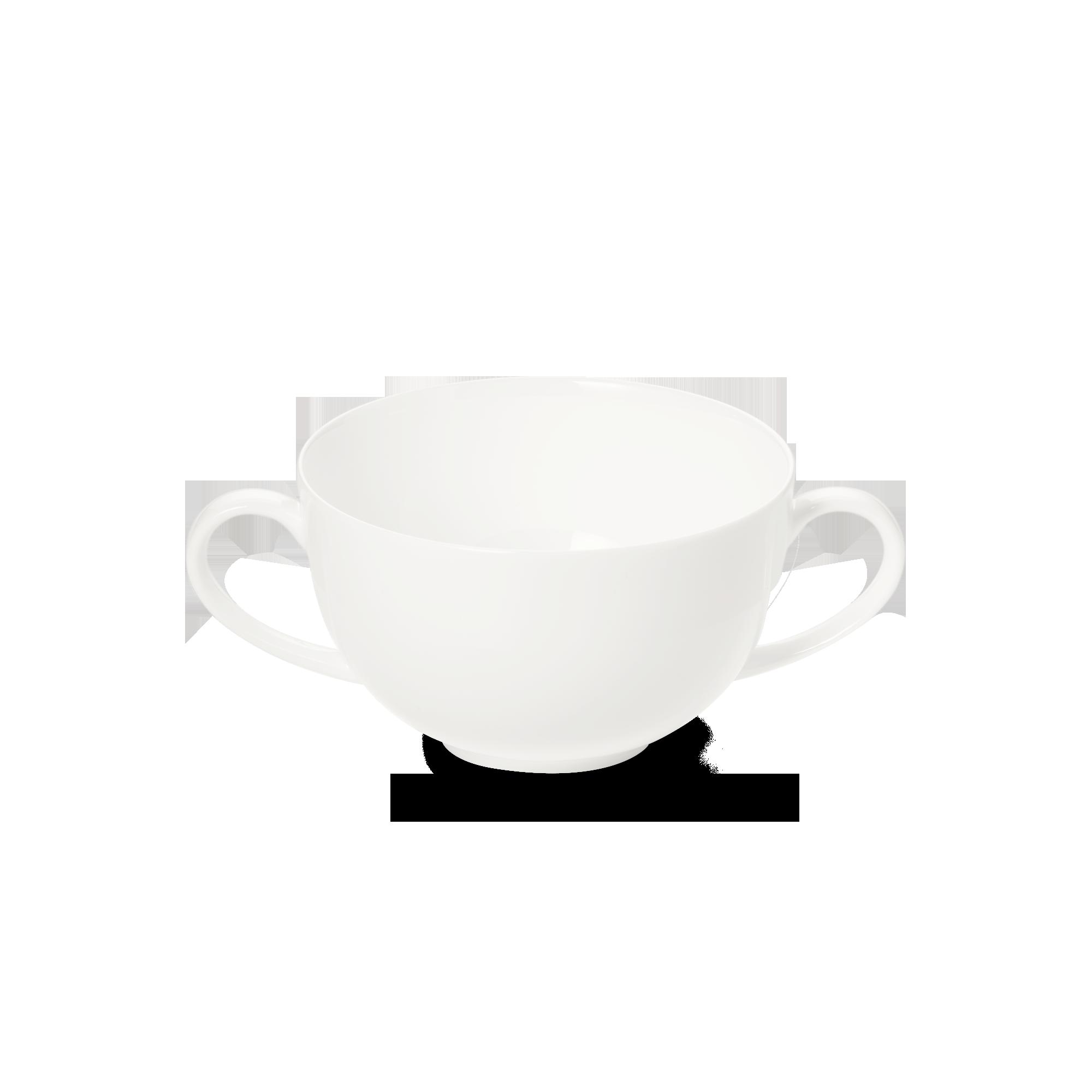 Suppen-Obertasse 0,32 l Fine Bone China Classic Weiss Dibbern
