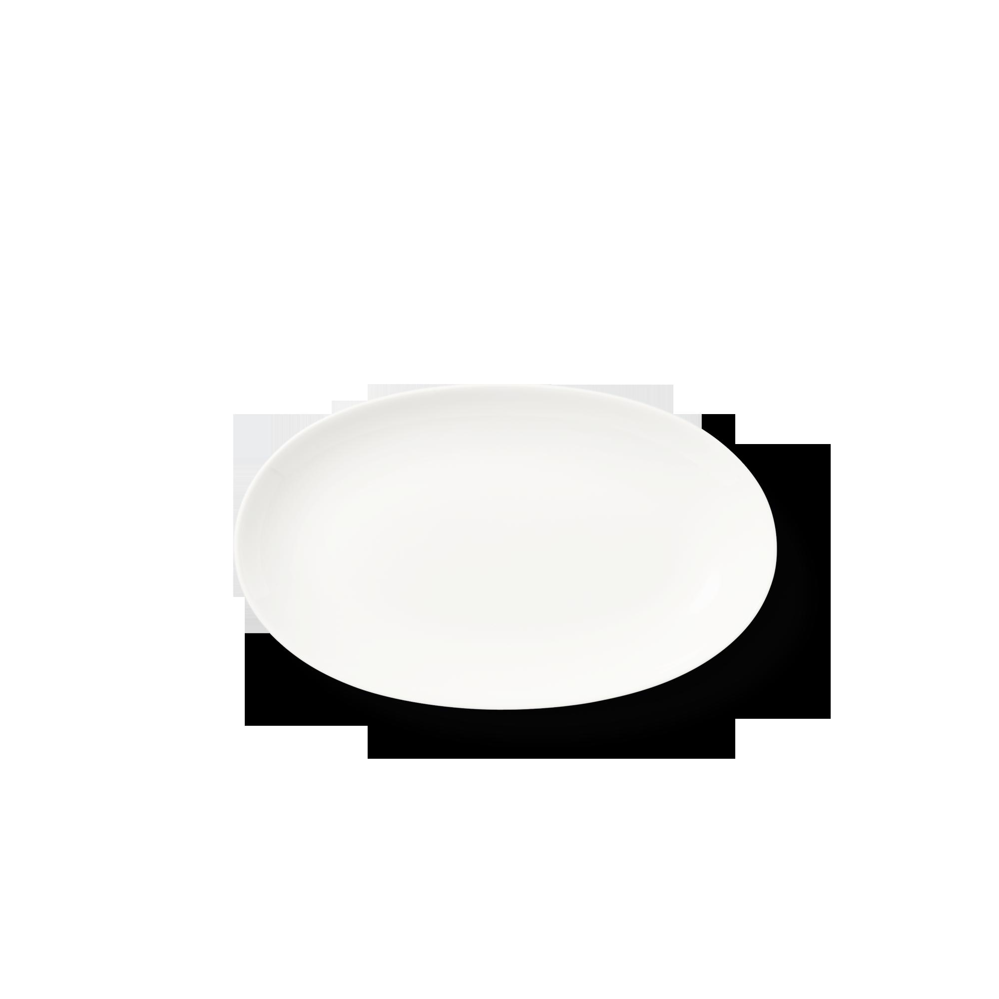 Beilage oval 24 cm Fine Bone China Classic Weiss Dibbern