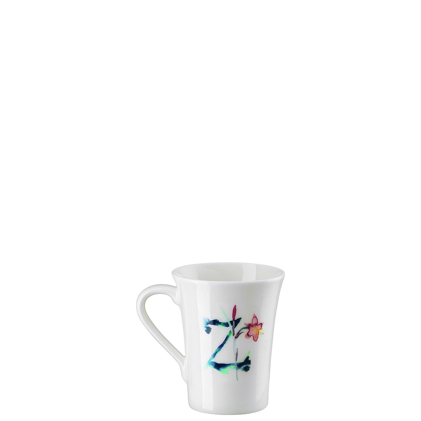 Becher mit Henkel Flower Alphabet Z-Zephyranthes Hutschenreuther