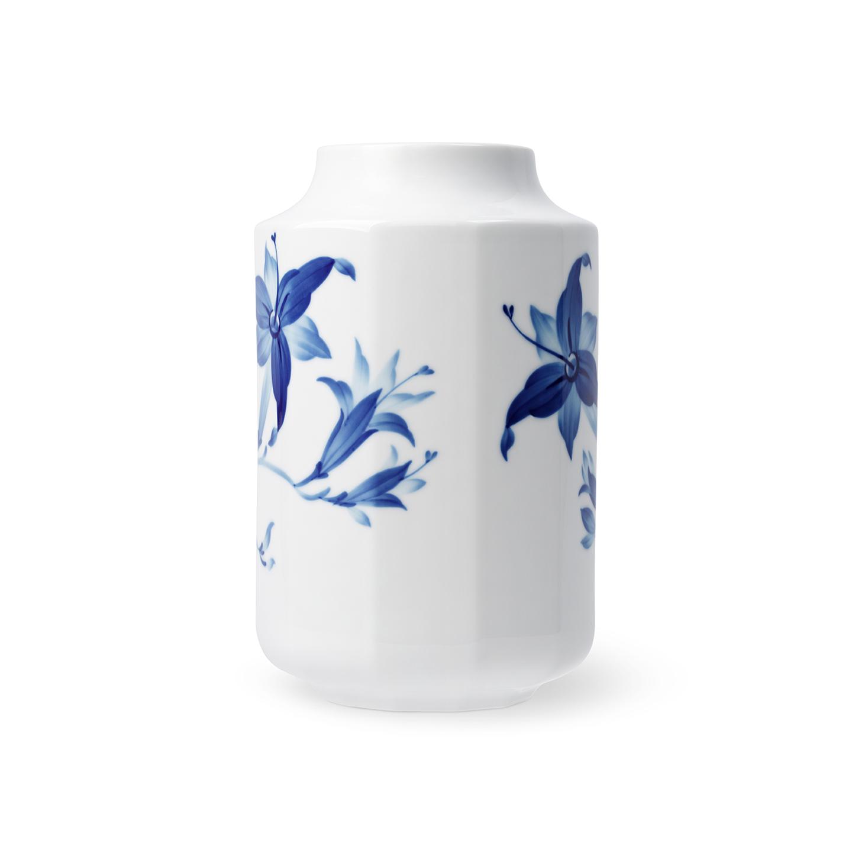 offene Vase 20 cm Taglilie blomst Royal Copenhagen