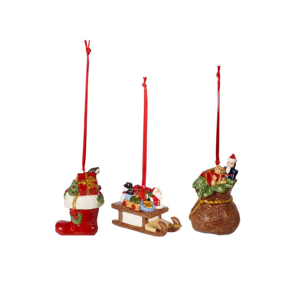 Ornamente Geschenke 3tlg. 6,3cm Nostalgic Ornaments Villeroy und Boch