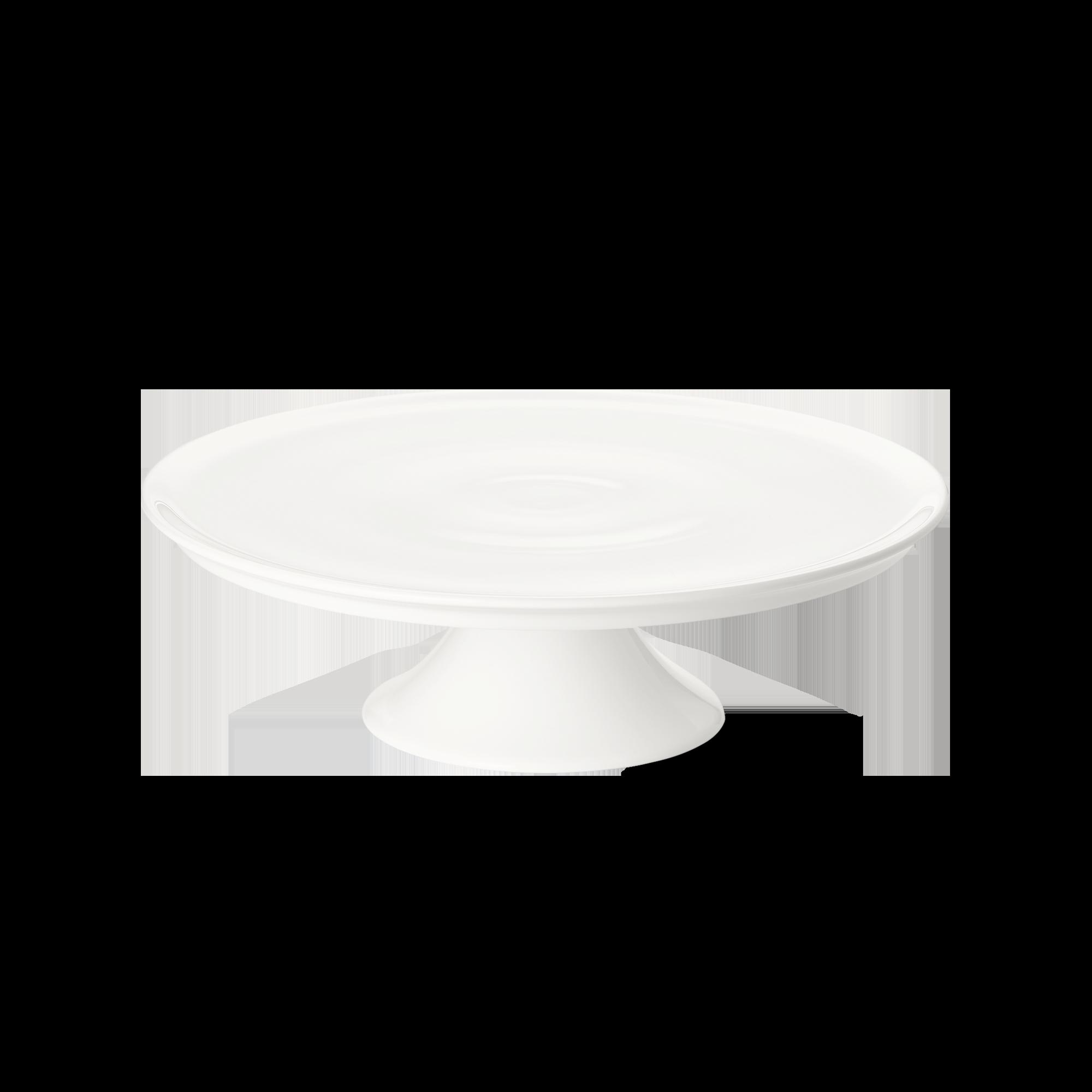 Tortenplatte auf Fuß 32 cm Fine Bone China Classic Weiss Dibbern