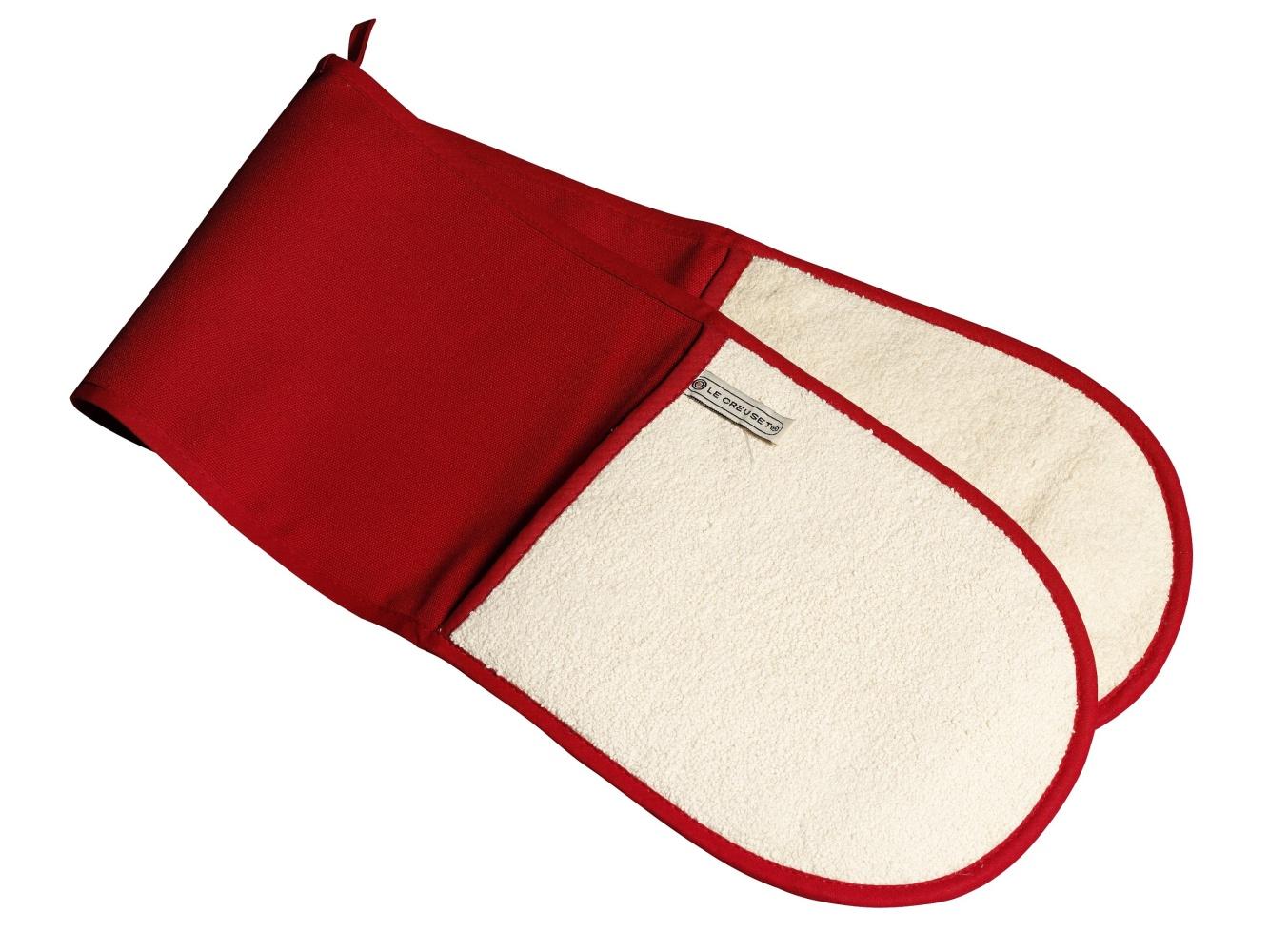 Doppelhandschuh Rot Textilien Le Creuset