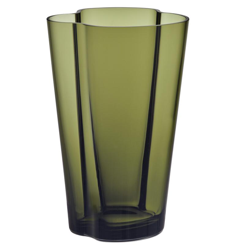 Vase – 22 cm – Moosgrün Aalto Iittala