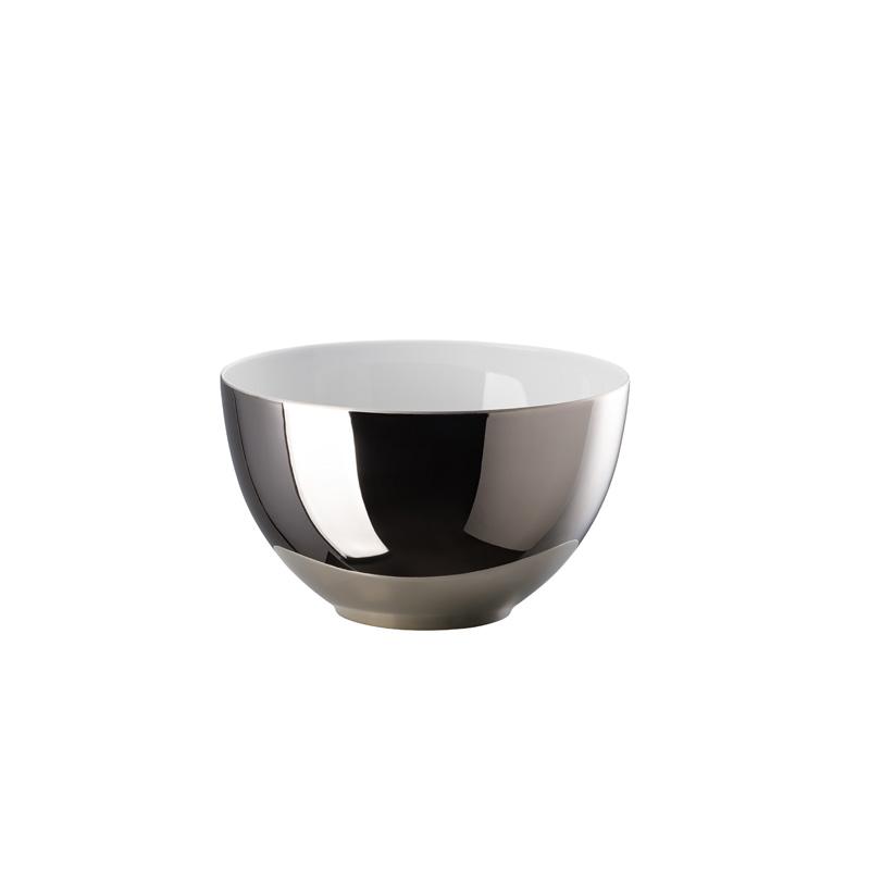 Multifunktionsschale außen Platin titanisiert TAC Gropius Stripes 2.0 Rosenthal Studio Line