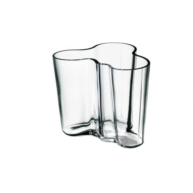 Vase – 9,5 cm - Klar Aalto Iittala