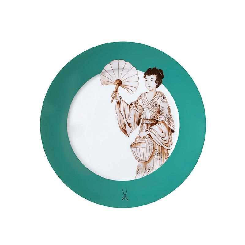 Vorspeise- & Dessertteller 22cm No 41 Noble Chinese Collage Meissen
