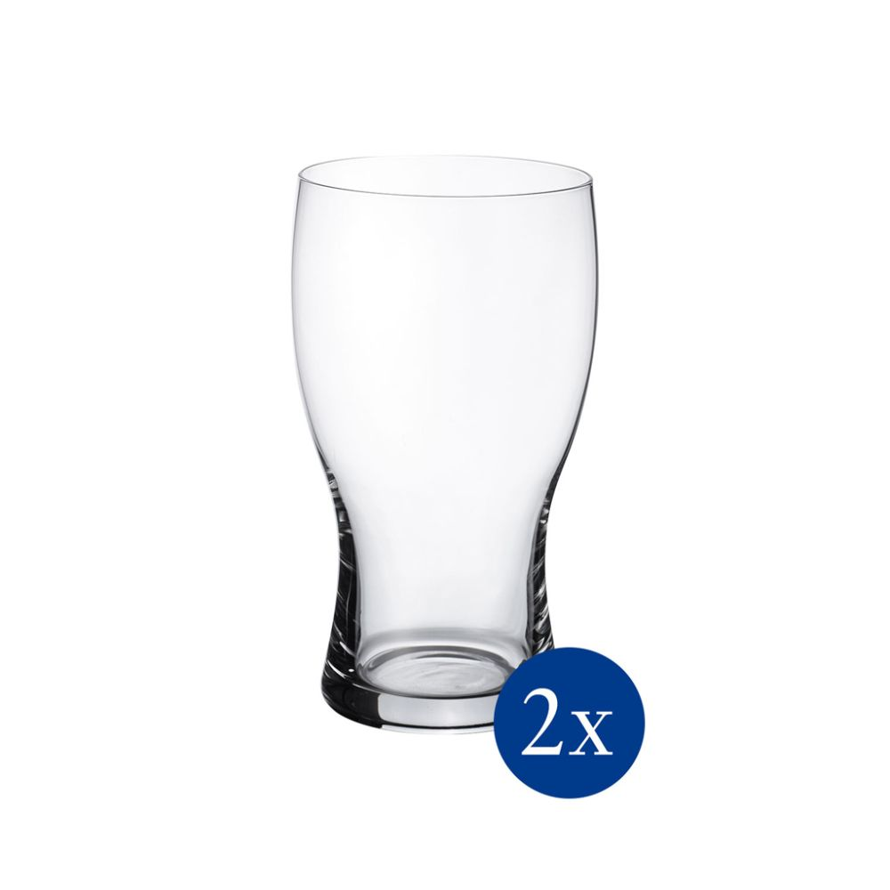 Pint Set 2tlg. 160mm Purismo Beer Villeroy und Boch