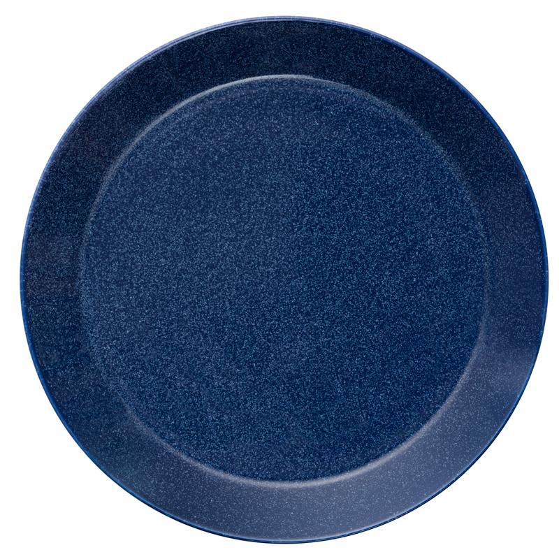 Teller - 26 cm - Duo blau Teema dotted blue Iittala