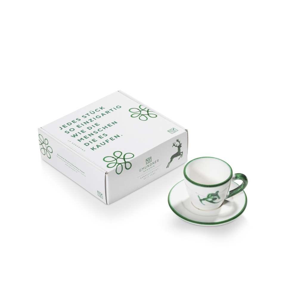 Espresso für Dich Gourmet Grüner Toni Gmundner Keramik