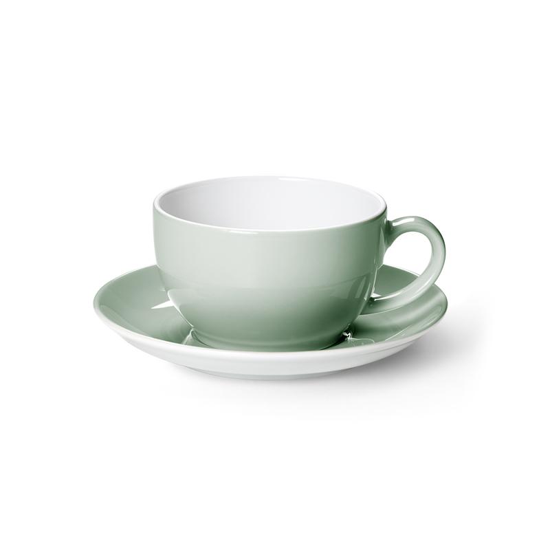 Kaffee-Untertasse Solid Color Salbei Dibbern