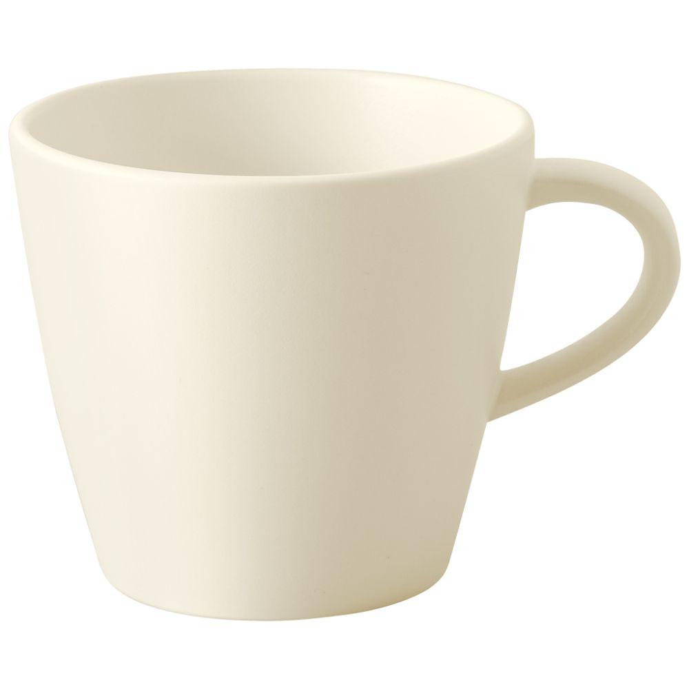 Kaffeeobertasse 10,5x8x7,5cm Manufacture Rock blanc Villeroy und Boch