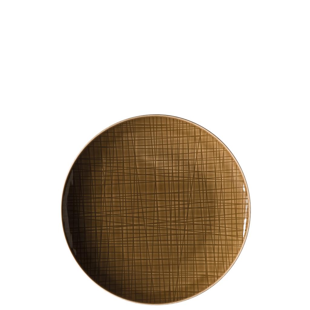 Teller flach 21 cm Mesh Colours Walnut Rosenthal
