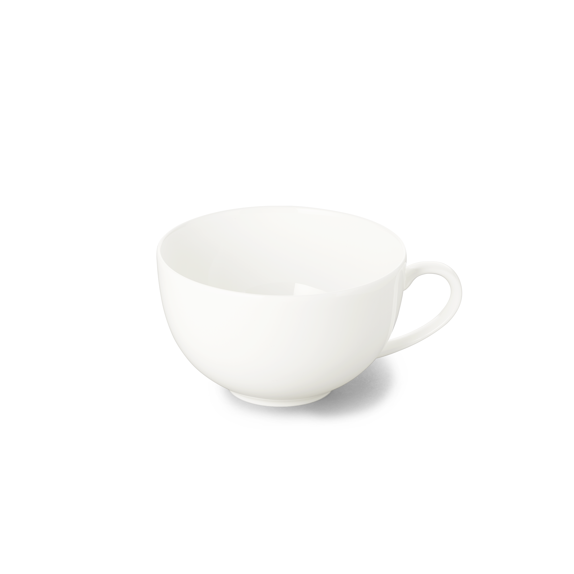 Café au Lait Obertasse 0,32 l Fine Bone China Classic Weiss Dibbern