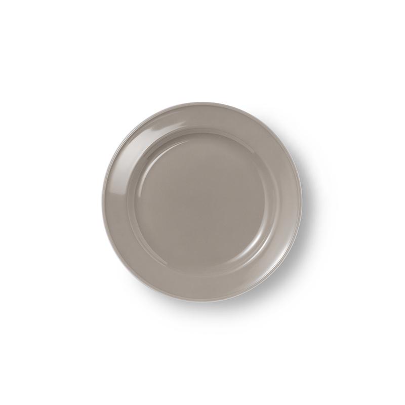 Teller flach 19 cm Volldekor Solid Color Kiesel Dibbern