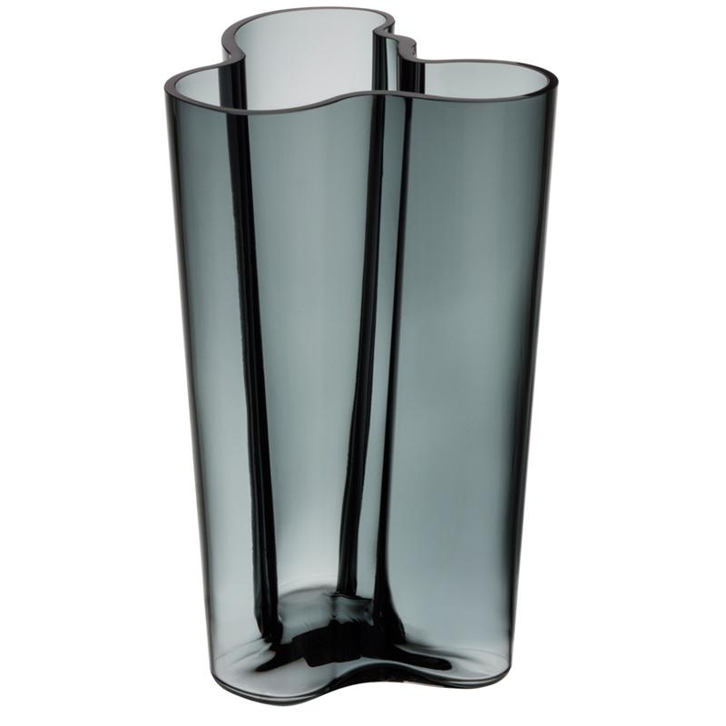 Vase – 25,1 cm - Grau Aalto Iittala