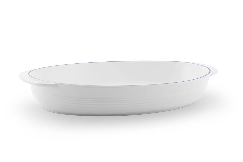 Auflaufschale oval 37x23,5 cm Jeverland  Kleine Brise Friesland Porzellan