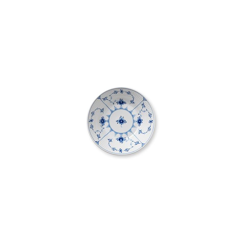 Suppenteller - 17 cm Blue Fluted Plain Royal Copenhagen