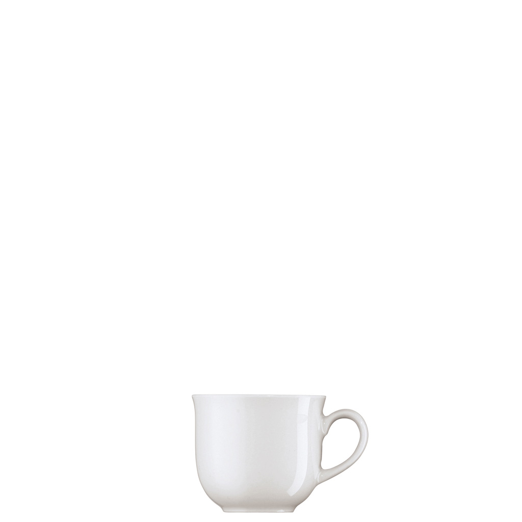 Espresso-/Mokka-Obertasse Form 1382 Weiss Arzberg