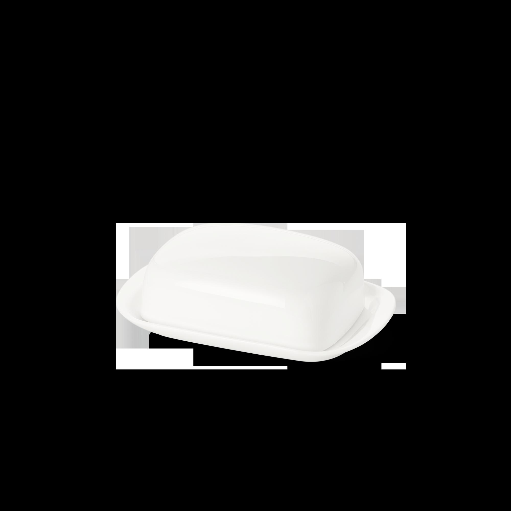 Butterdose 125 g Fine Bone China Classic Weiss Dibbern