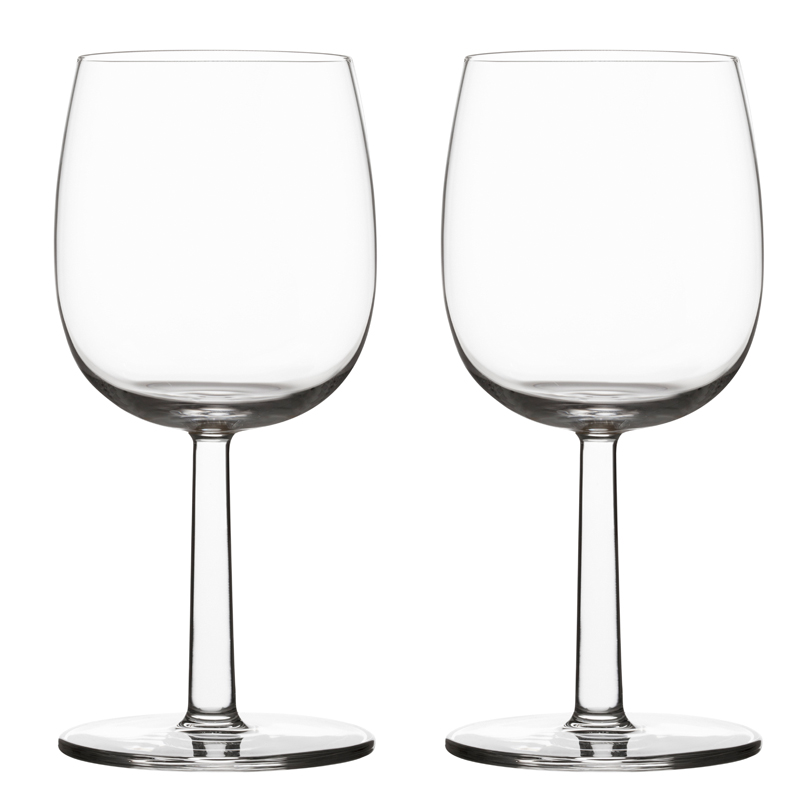 Rotwein- Weissweinglas – 280 ml - 2 Stück Raami Gläser Iittala