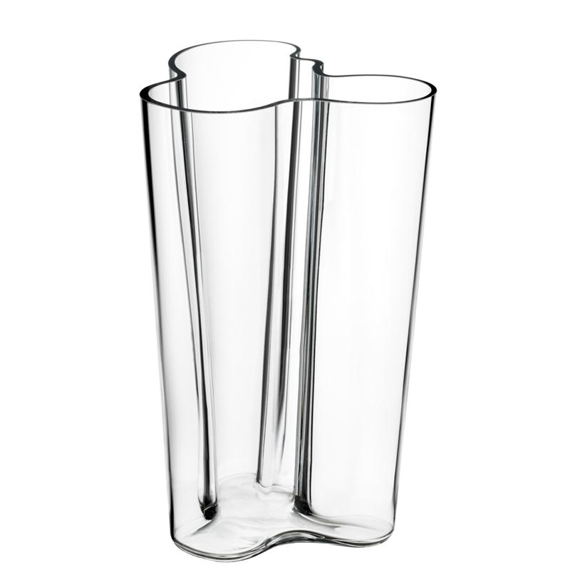 Finlandia Vase – 25,1 cm - Klar Aalto Iittala