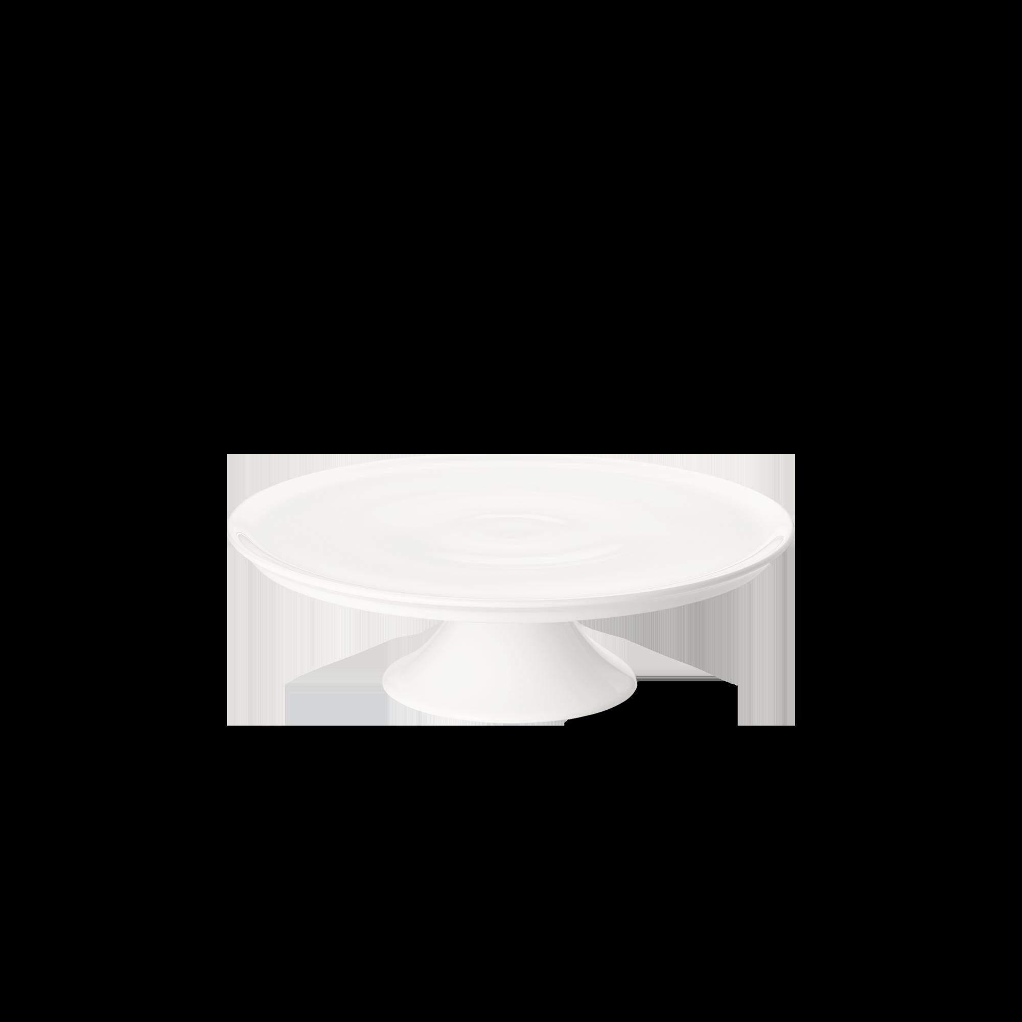 Tortenplatte auf Fuß 24 cm Fine Bone China Classic Weiss Dibbern