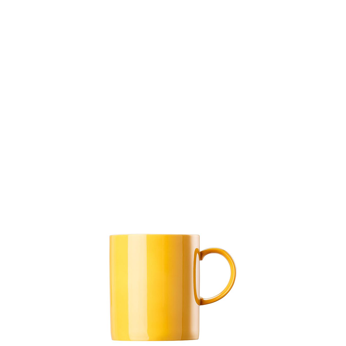 Becher mit Henkel groß Sunny Day Yellow Thomas Porzellan