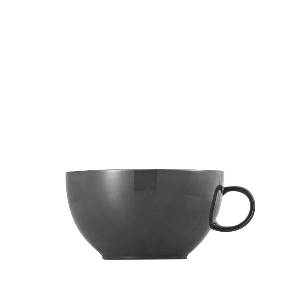 Cappuccino-Obertasse Sunny Day Grey Thomas Porzellan