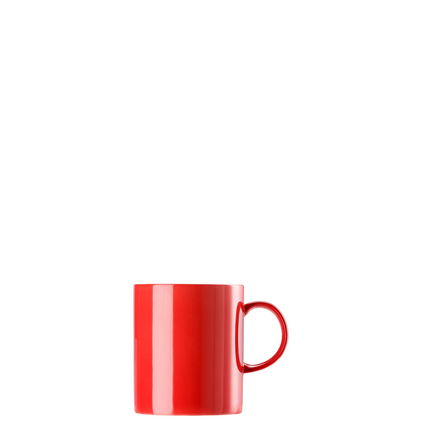Becher mit Henkel groß Sunny Day New Red Thomas Porzellan