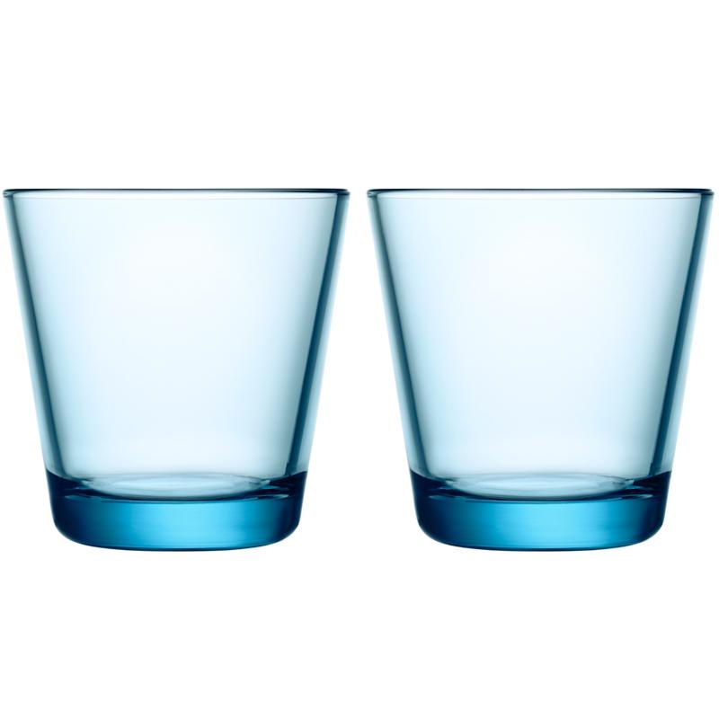 Glas – 210 ml - Hellblau - 2 Stück Kartio Kartio Iittala