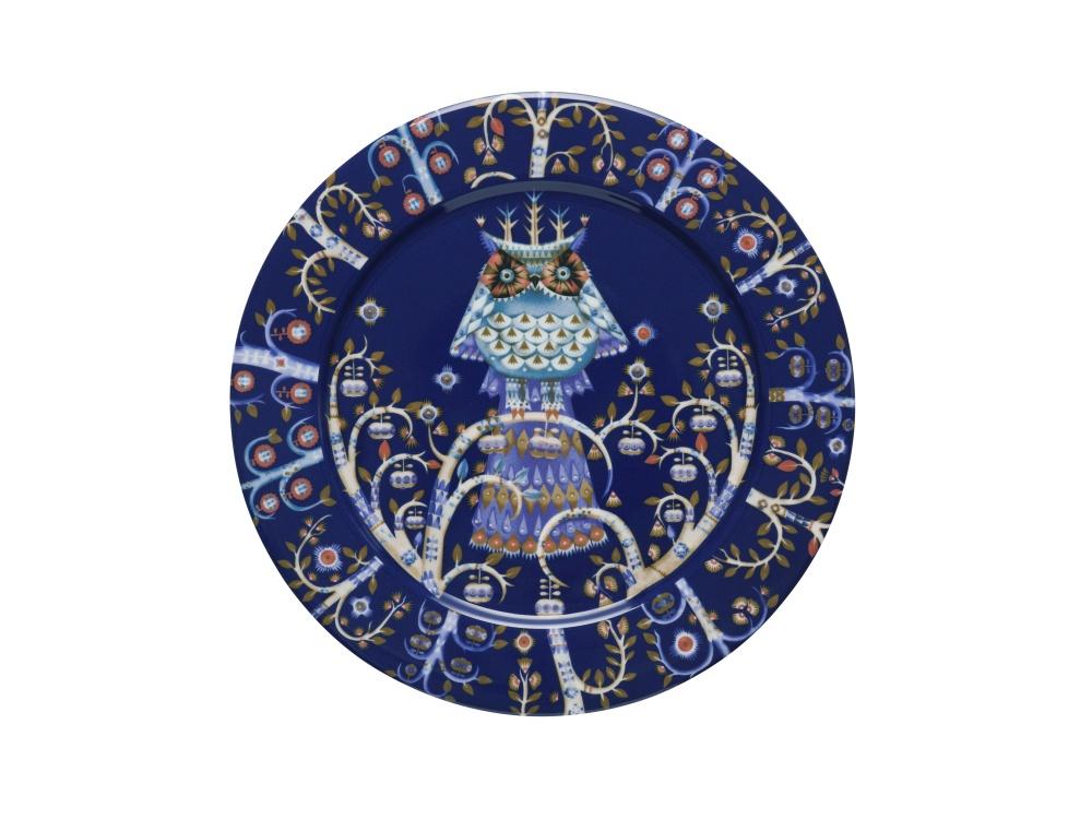 Teller - 27 cm - Blau Taika blue Iittala