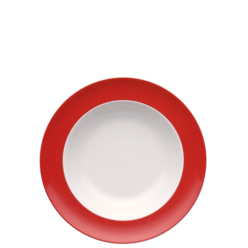Suppenteller 23 cm Sunny Day New Red Thomas Porzellan