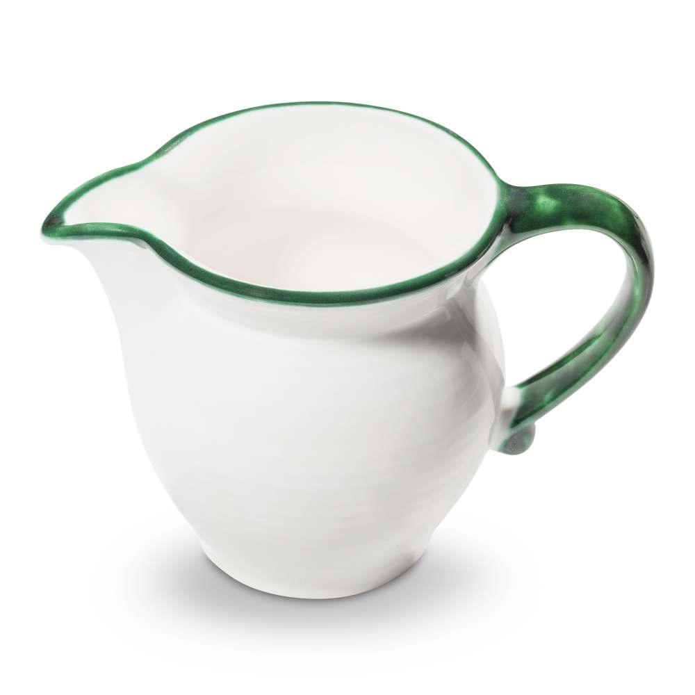 Milchgießer Cup (0,3L) Grüner Rand Gmundner Keramik