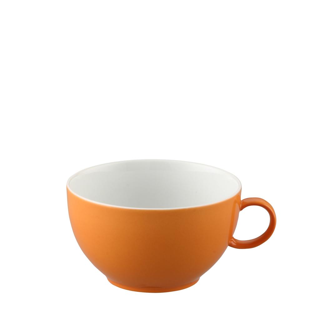 Cappuccino-Obertasse Sunny Day Orange Thomas Porzellan