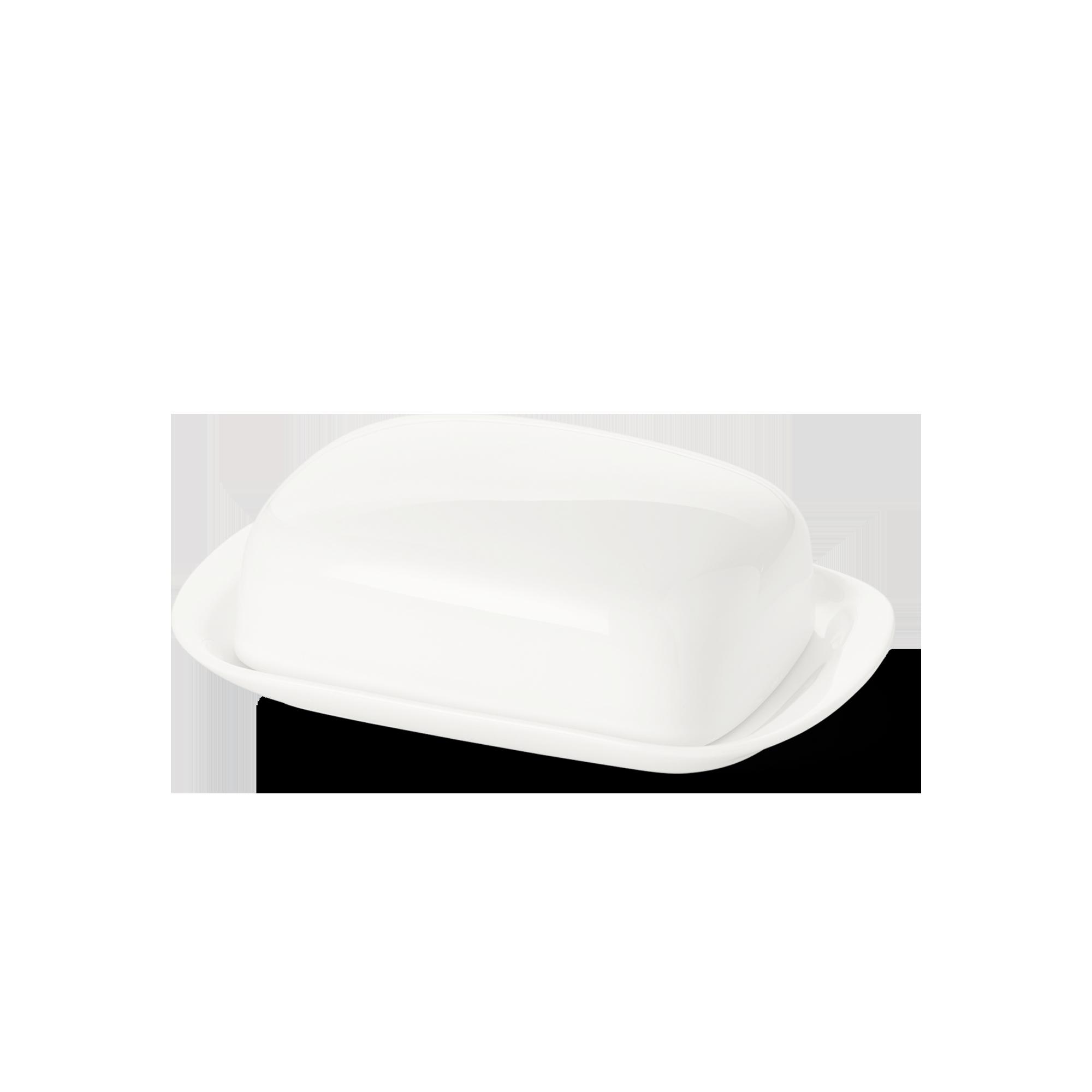 Butterdose 250 g Fine Bone China Classic Weiss Dibbern