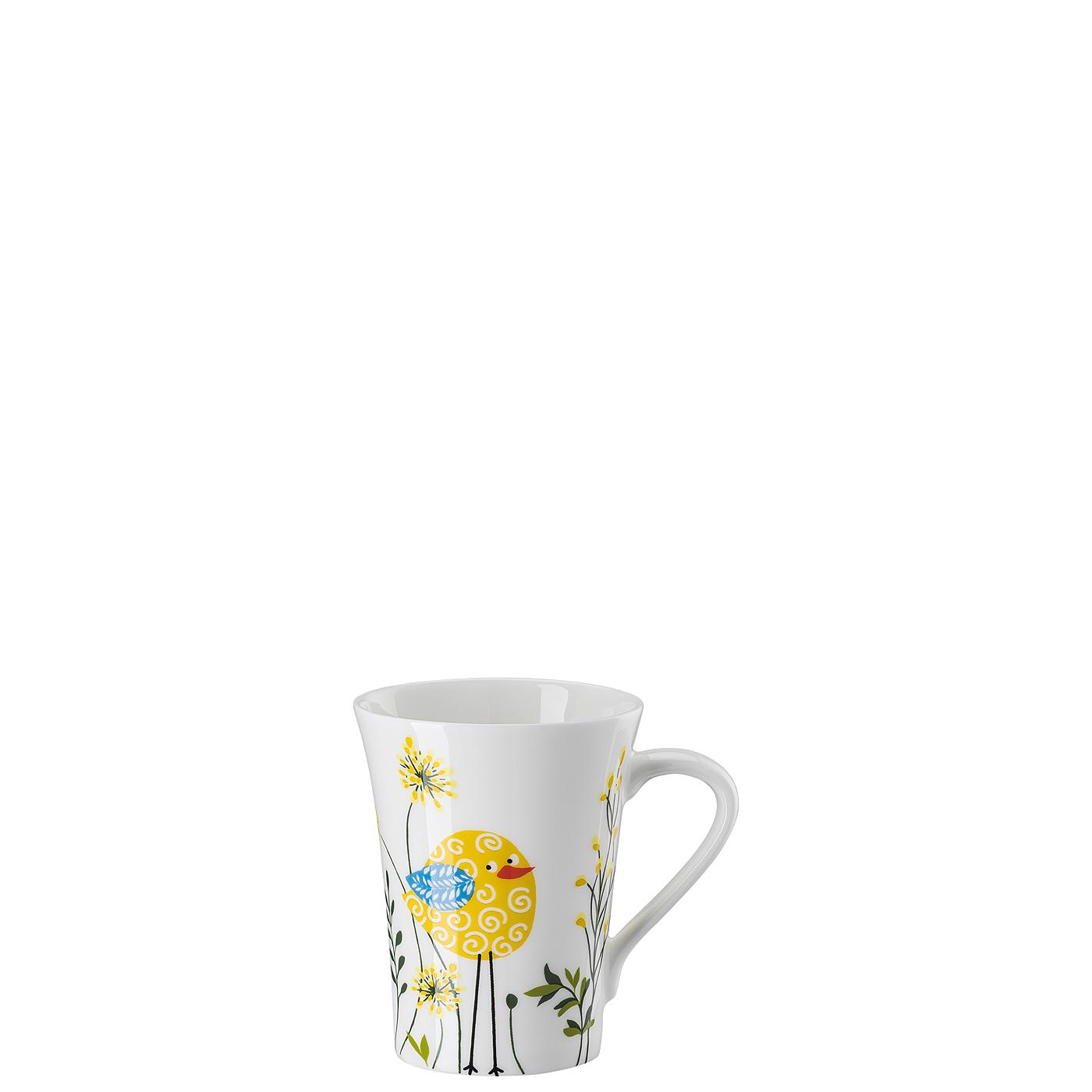 Becher mit Henkel My Mug Collection Birdie - Yellow Hutschenreuther