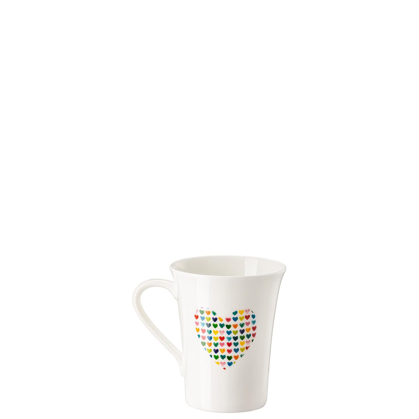 Becher mit Henkel My Mug Collection Love-Heart of hearts Hutschenreuther