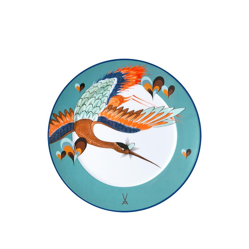 Vorspeise- & Dessertteller 22cm No 41 Love Birds Collage Meissen
