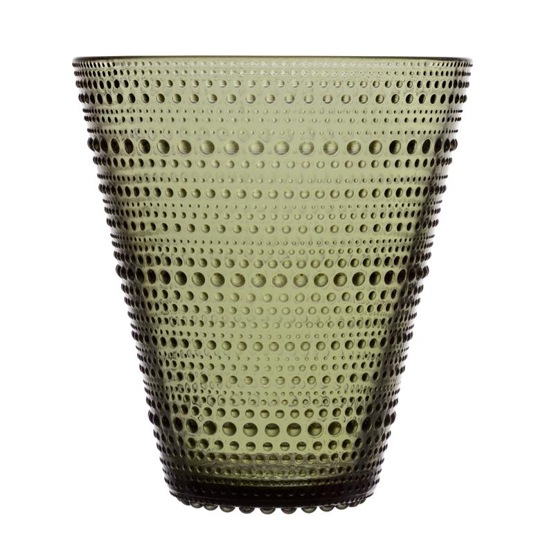Vase – 15,4 cm - Moosgrün Kastehelmi Iittala