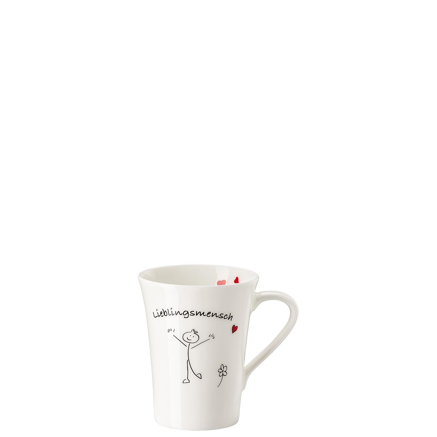 Becher mit Henkel My Mug Collection Wort-Lieblingsmensch Hutschenreuther