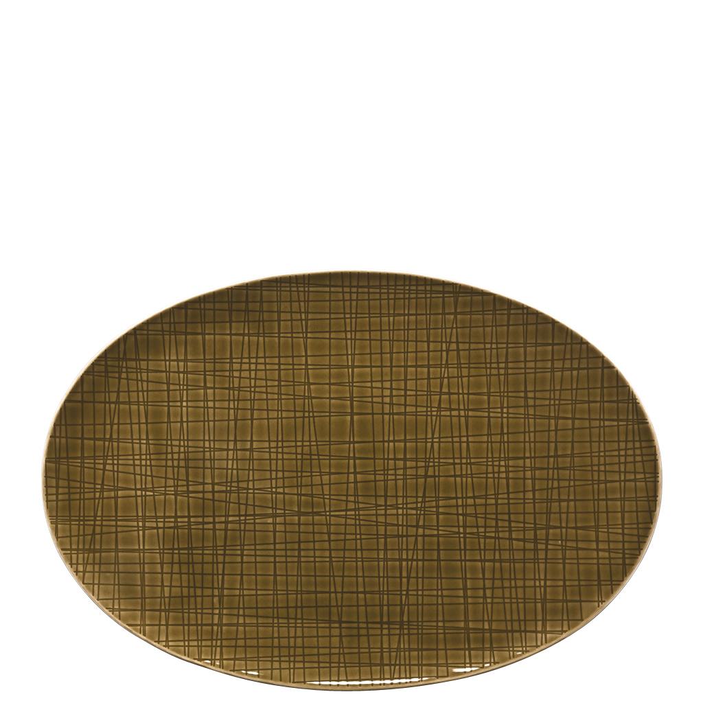 Platte 30 cm Mesh Colours Walnut Rosenthal