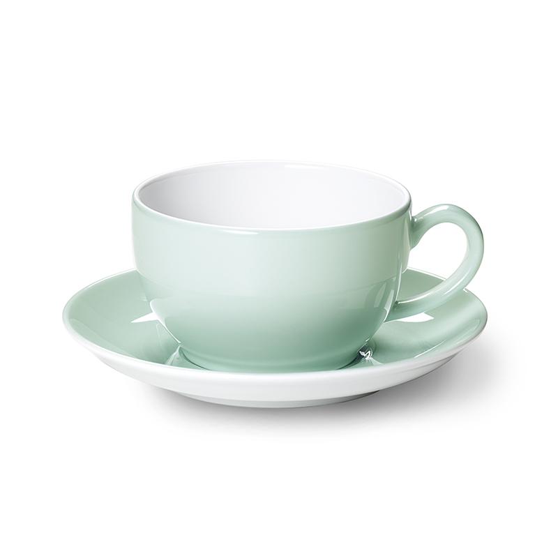 Cappuccino-Obertasse 0,30 l Solid Color Mint Dibbern