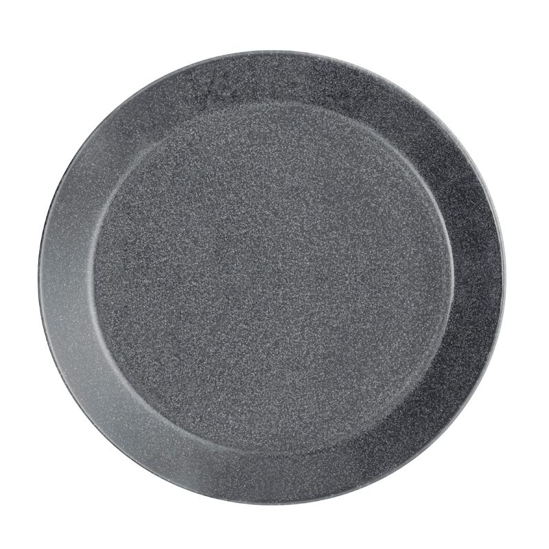 Teller - 21 cm - Duo grau Teema dotted grey Iittala