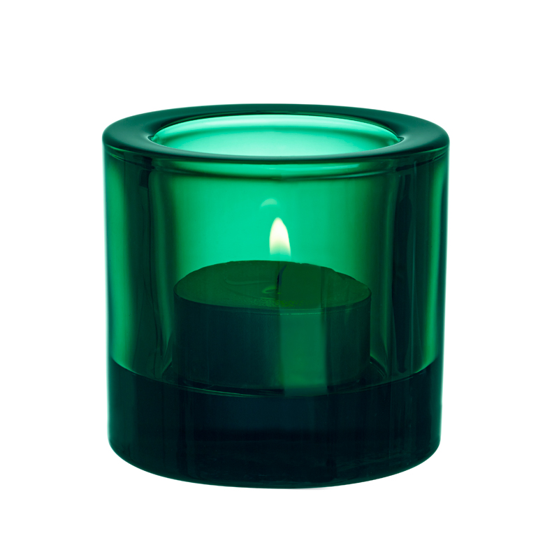 Windlicht - 6 cm - Emerald Kivi votives Iittala