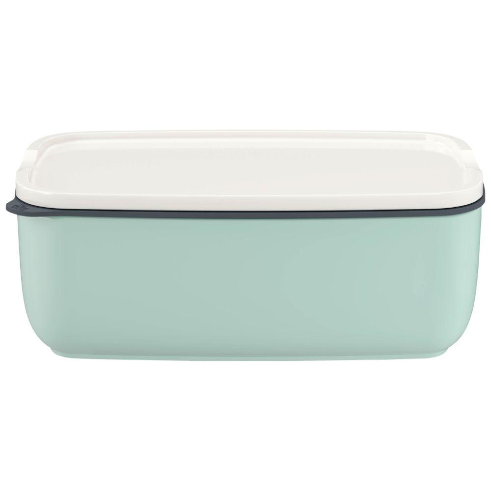 Lunchbox L eckig mineral 20x13x7,5cm To Go & To Stay Villeroy und Boch