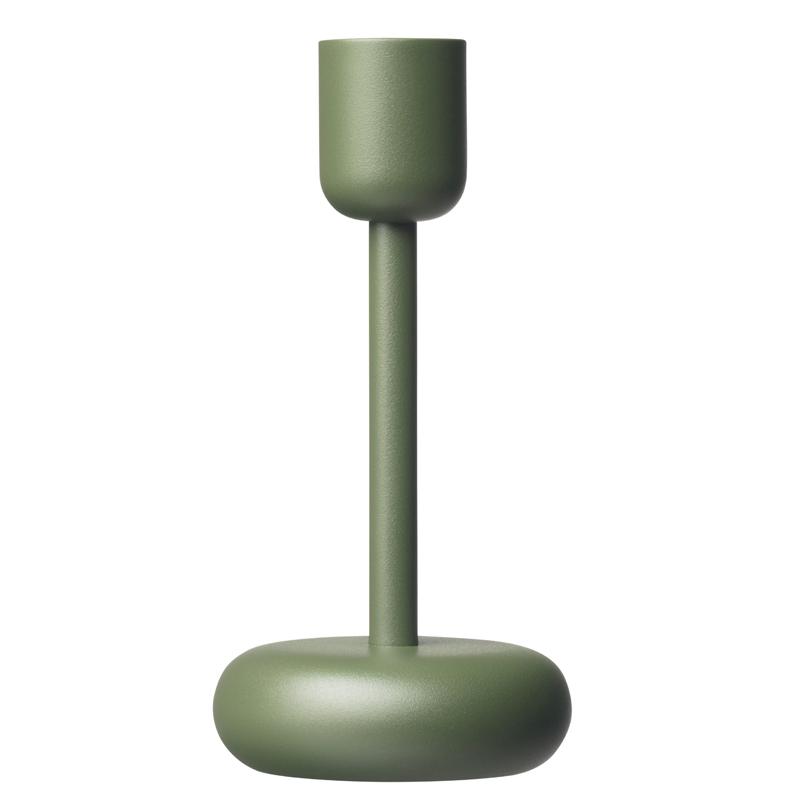 Kerzenleuchter – 18,3 cm – moosgrün Nappula Iittala
