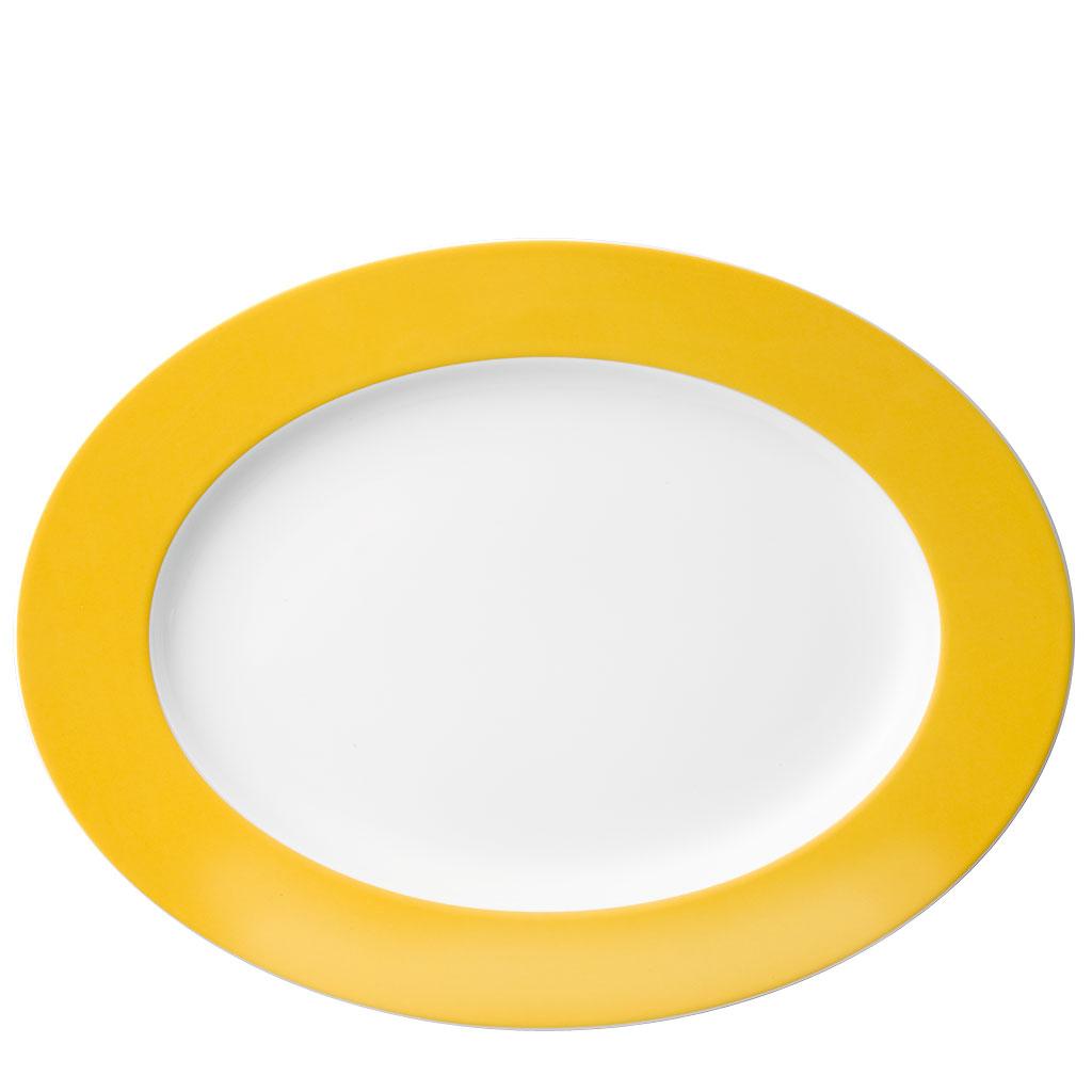 Platte 33 cm Sunny Day Yellow Thomas Porzellan
