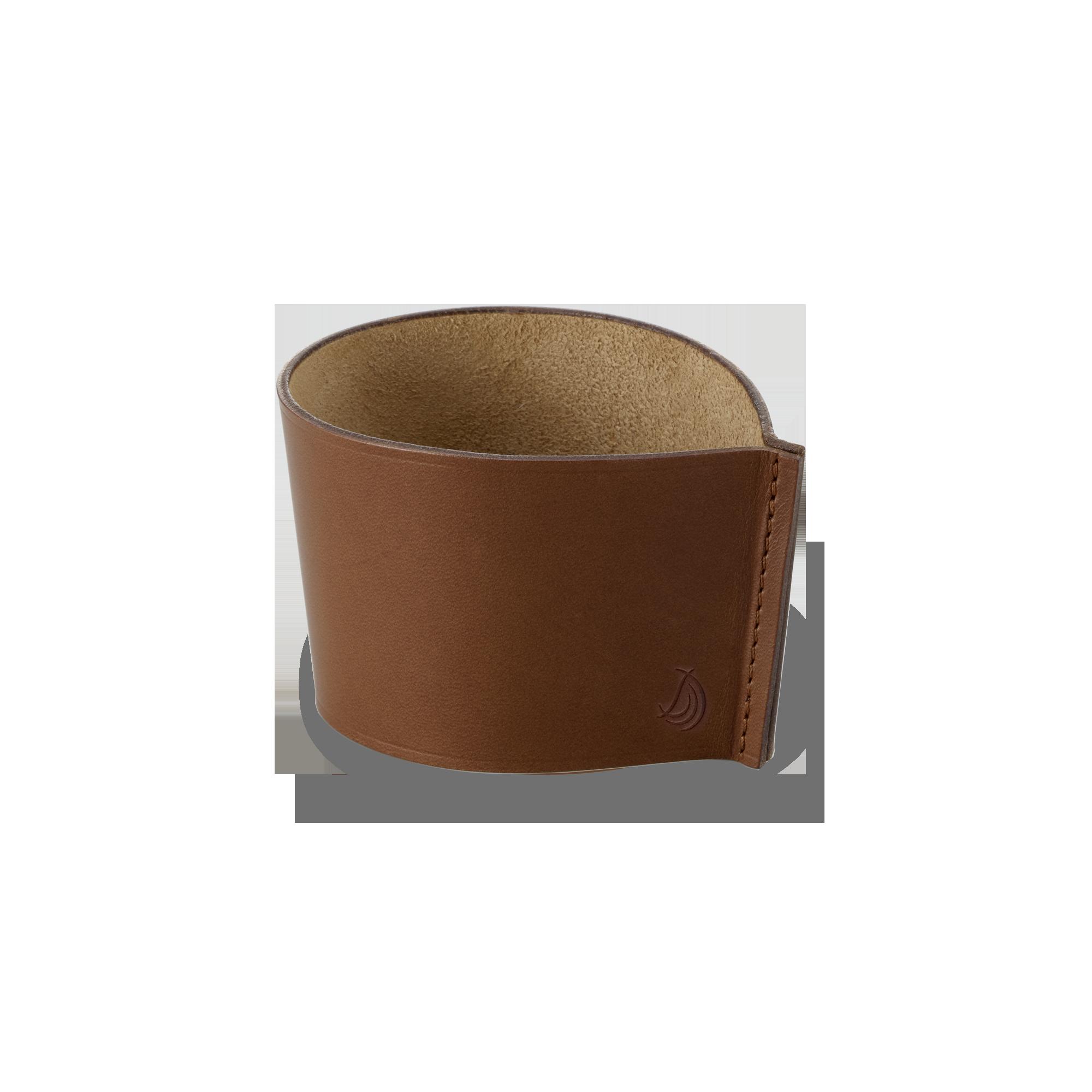 Banderole Coffee To Go Becher Fine Bone China Classic Braun Dibbern